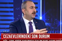 Adalet Bakanı Abdülhamit Gül'den kritik af açıklaması!