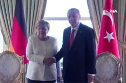 Merkel, Putin, Macron... Zirve için İstanbul'dalar