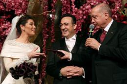 İlker Aycı evlendi şahitliğini Erdoğan yaptı
