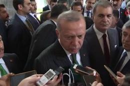 Cumhurbaşkanı Erdoğan flaş AİHM çıkışı Bahçeli ile ittifakı görüşeceğiz