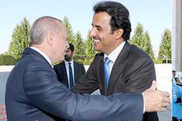 Cumhurbaşkanı Erdoğan Katar Emiri Sani'yle görüşecek!