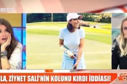 Ahmet Kural'dan şiddet gören Sıla, Ziynet Sali'nin kolunu mu kırdı?