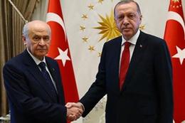 Bahçeli'den Cumhurbaşkanı Erdoğan ile görüşmesine ilişkin açıklama
