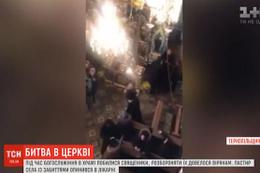 Ukrayna'da kilisede rahipler birbirine girdi! Rahip pedofili iddiası