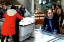 Metresini marketi basarak perişan etti