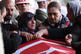 Afrin şehidi Muhammed Ali Kalo son yolculuğuna uğurlandı