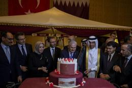 Türkiye'ye Katar'dan tam destek