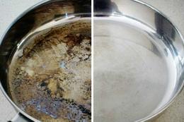Dibi tutan tencere nasıl temizlenir?