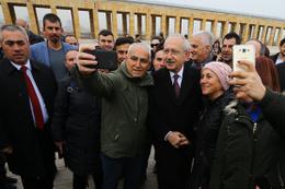 Kılıçdaroğlu yeni PM üyeleri ile Anıtkabir'i ziyaret etti