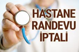 MHRS hastane randevusu nasıl iptal edilir?
