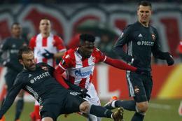 Kızılyıldız sahasında CSKA Moskova ile berabere kaldı
