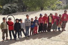 Buzda kayıp düşen çocuk hayatını kaybetti