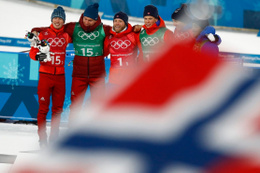 Norveç Kış Olimpiyatları'nda zirveyi bırakmıyor