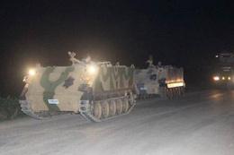 Suriye sınırına tank sevkiyatı sürüyor
