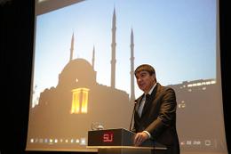 Başkan Türel'den Üniversite Camisine anlamlı destek