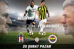 Beşiktaş Fenerbahçe derbisi (BJK-FB) saat kaçta hangi kanalda?