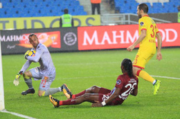 Beto maça damga vurdu Trabzonspor'a geçit vermedi