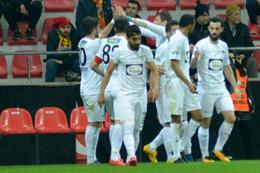 Kayserispor'u deviren Akhisarspor yarı finalde!
