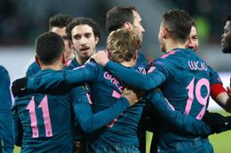 Atletico Madrid Moskova'da gol oldu yağdı