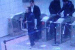Görüntülerden tespit edildi: Metroda yakalandı!