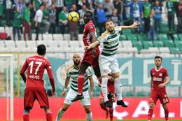 Bursaspor Sivasspor maçı sonucu ve özeti