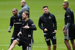 Beşiktaş Alanyaspor'a hazırlanıyor