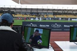 Video Yardımcı Hakem Sistemi Türkiye'de ilk kez uygulandı