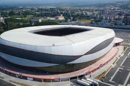 Samsun'un yeni stadı dünyanın en iyileri arasında