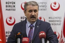 BBP lideri Destici'den Abdullah Gül açıklaması