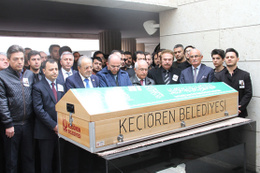 Cemal Safi Ankara'da son yolculuğuna uğurlandı