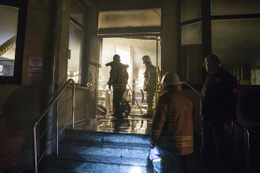 Sultan Abdülhamid Han Eğitim ve Araştırma Hastanesi'nde yangın paniği