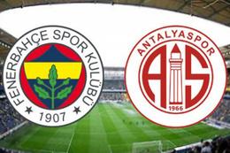 Fenerbahçe-Antalyaspor maçı saat kaçta hangi kanalda?