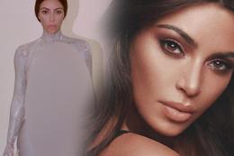 Kim Kardashian iyi azıttı parfüm tanıtacağım diye çırılçıplak soyundu