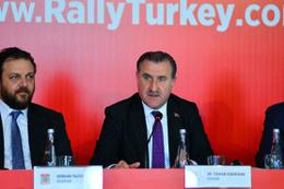 Dünya Ralli Şampiyonası'nın tanıtım toplantısı yapıldı