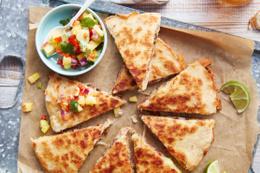 Tavuklu Mantarlı Quesadilla nasıl yapılır?