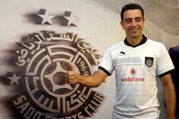38'lik Xavi iki yıllık sözleşme imzaladı