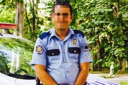 Tecavüz iddiası o polis konuştu öpüşürken...
