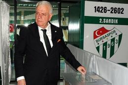Bursaspor'da tuhaf başkanlık seçimi