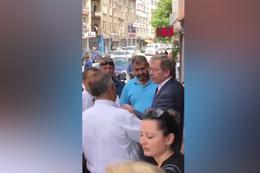 Konya'da CHP'li Abdüllatif Şener'e tepki