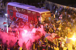 Hatayspor'da 51 yıllık şampiyonluk hasreti bitti