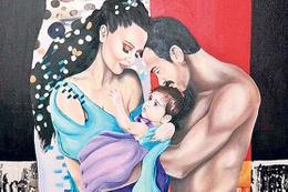 Demet Akalın'ın aile tablosu olay oldu!
