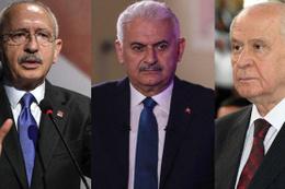 Liderlerin reyting savaşı! Yıldırım mı Kılıçdaroğlu mu Bahçeli mi?