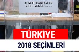 2018 Genel Seçim Sonuçları 24 Haziran YSK