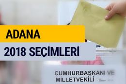 Adana seçim sonucu 2018 Adana oy oranları