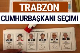 Trabzon Cumhurbaşkanları oy oranları YSK Sandık sonuçları
