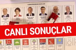 Türkiye anlık Seçim Sonuçları canlı yayını 24 Haziran 2018