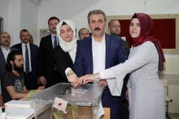 BBP Genel Başkanı Destici oyunu Ankara'da kullandı