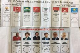 Sahte oy pusulasıyla oy kullanmaya kalktılar...