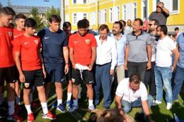 Kayserispor yeni sezona kurban keserek başladı
