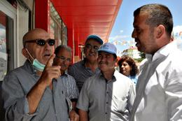İYİ Parti adayları, Gölhisarlılarla buluştu